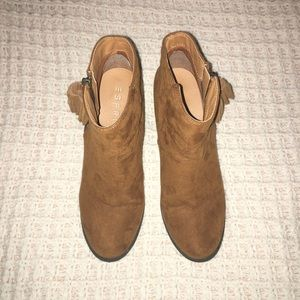 Autumn Boho Heel Ankle Boots